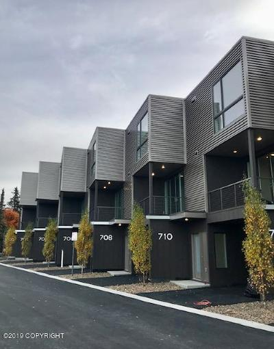 Anchorage Condo/Townhouse For Sale: 702 Top Rail Lane