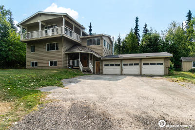Anchorage Single Family Home For Sale: 6360 Woodmont Drive