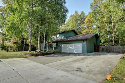 Eagle River Single Family Home For Sale: 9806 Dinaaka Drive