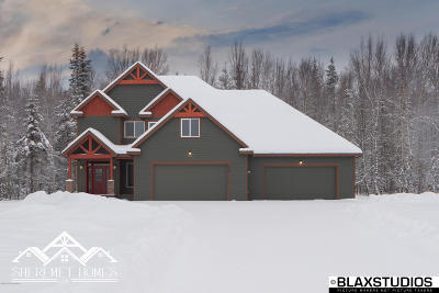 Wasilla Single Family Home For Sale: 6405 Brainard Lane
