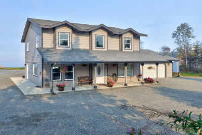 Kenai Single Family Home For Sale: 1813 Sunset Boulevard