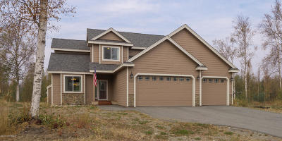 Wasilla Single Family Home For Sale: 3230 W Secluded Meadows Loop