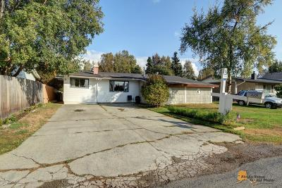 Anchorage Single Family Home For Sale: 8221 Del Street