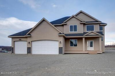 Wasilla Single Family Home For Sale: 1600 W Amethyst Circle