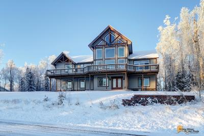 Wasilla Single Family Home For Sale: 3445 W Secluded Meadows Loop