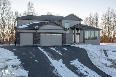 Wasilla Single Family Home For Sale: 1350 N Bloodstone Circle