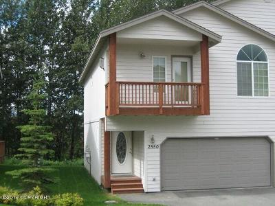 Anchorage Condo/Townhouse For Sale: 2550 Hidden Retreat Place #22