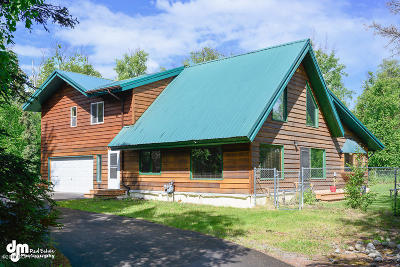 Wasilla Single Family Home For Sale: 901 E Chugach View Drive
