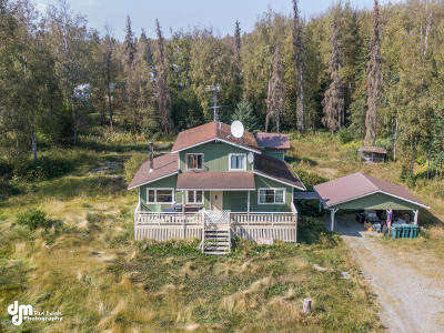 Wasilla Single Family Home For Sale: 8238 S A Street