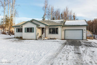 Wasilla Single Family Home For Sale: 605 N Autumn Mist Lane