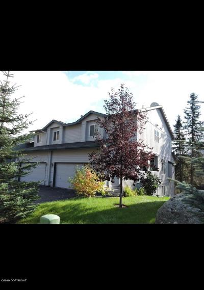 Eagle River Condo/Townhouse For Sale: 20800 Trailhead Avenue #1