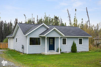 Wasilla Single Family Home For Sale: 4830 N Edenfield Road