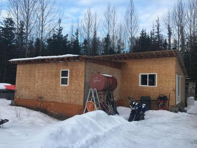 Wasilla AK Single Family Home For Sale: $60,000