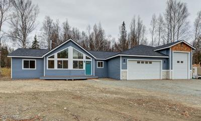 Wasilla Single Family Home For Sale: 1689 W Gold Bar Road