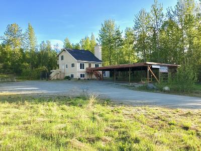 Chugiak Single Family Home For Sale: 15870 S Birchwood Loop Road