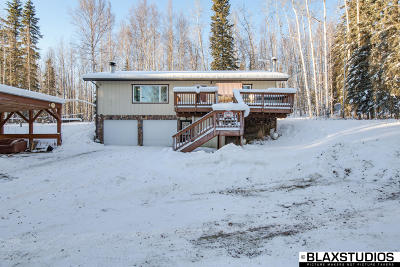 Fairbanks Single Family Home For Sale: 4280 Murphy Dome Road