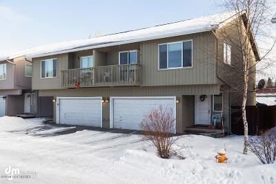 Anchorage Condo/Townhouse For Sale: 4954 Barrington Loop