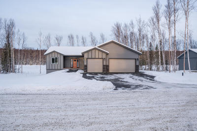 Wasilla Single Family Home For Sale: 2911 W Angela Drive