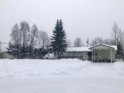 Anchorage AK Single Family Home For Sale: $167,000