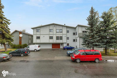 Anchorage Condo/Townhouse For Sale: 329 E 14th Avenue #7