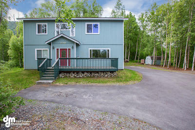 Chugiak, Eagle River Single Family Home For Sale: 26650 Kerry Loop