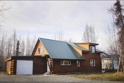 Wasilla Single Family Home For Sale: 14191 Sunrise Drive