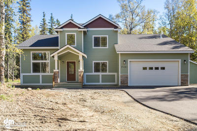 Wasilla Single Family Home For Sale: L1/B2 W Gold Bar Road