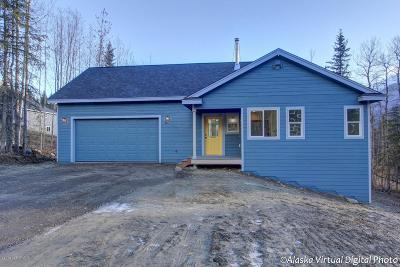 Wasilla Single Family Home For Sale: 7188 S Hayfield Road