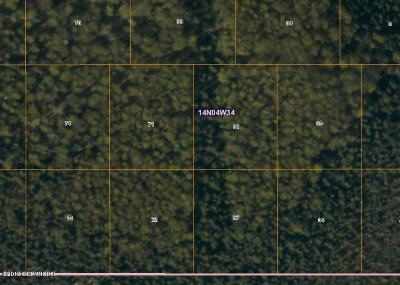 Wasilla Residential Lots & Land For Sale: Tr 37 No Road