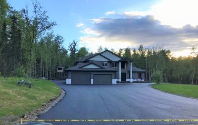 Wasilla Single Family Home For Sale: 3350 Edelweiss Drive
