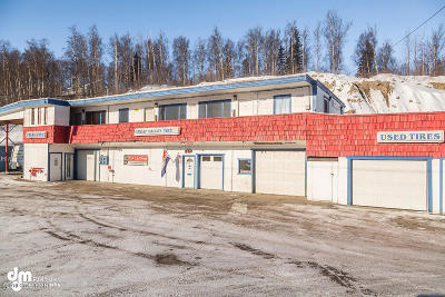 Wasilla Commercial For Sale: 1001 W Parks Highway