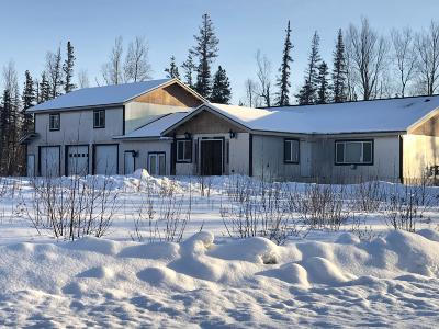 Wasilla Single Family Home For Sale: 3050 Meander Street