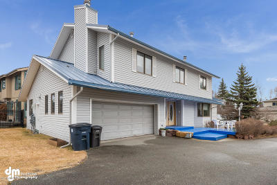 Anchorage Single Family Home For Sale: 2410 Belmont Drive