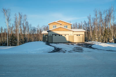 Wasilla Single Family Home For Sale: 2725 W Angela Drive