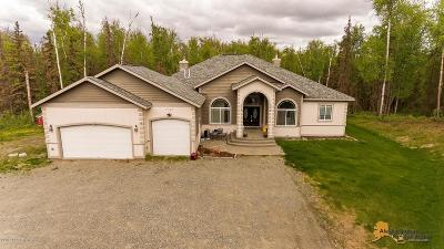 Wasilla Single Family Home For Sale: 7000 S Alan's Drive