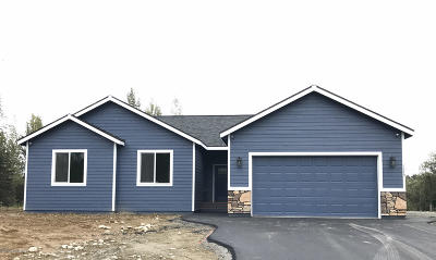 Anchorage, Chugiak, Eagle River, Palmer, Wasilla Single Family Home For Sale: 4740 W Gold Leaf Circle