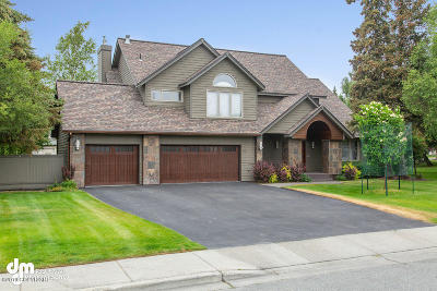 Anchorage Single Family Home For Sale: 821 Botanical Heights Circle