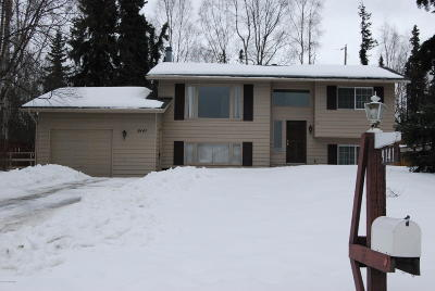 Anchorage Single Family Home For Sale: 9141 Claridge Place