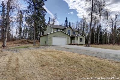 Wasilla AK Single Family Home For Sale: $299,000