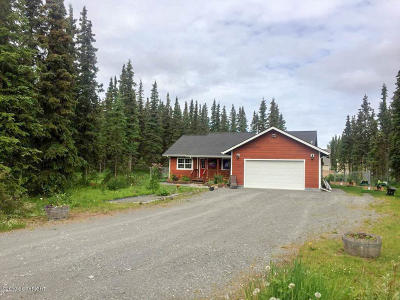 Kenai Single Family Home For Sale: 47160 Wildberry Court