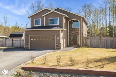 Wasilla Single Family Home For Sale: 2741 S Capon Place