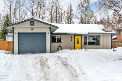 Anchorage Single Family Home For Sale: 8501 Hidden View Court