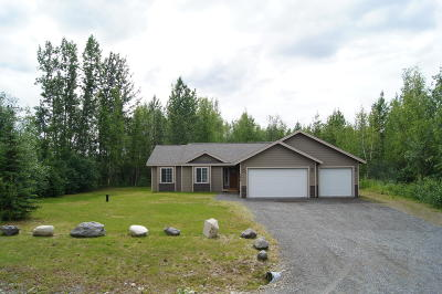 Wasilla Single Family Home For Sale: 7236 W Midnight Sun Circle