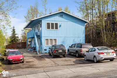 Anchorage AK Multi Family Home For Sale: $355,000