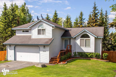 Eagle River Single Family Home For Sale: 19222 S Mitkof Loop