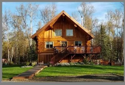Wasilla Single Family Home For Sale: 7695 W Carmel Road