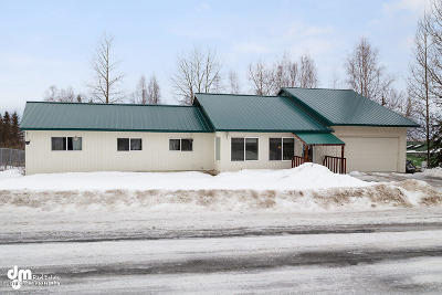 Eagle River, Chugiak Single Family Home For Sale: 11522 Aurora Street