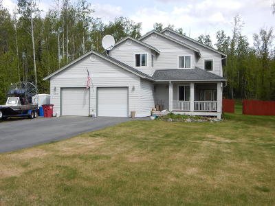 Wasilla Single Family Home For Sale: 2885 W Bayridge Circle