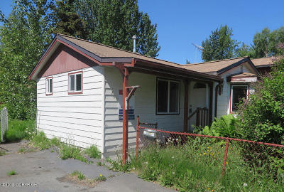 Anchorage Single Family Home For Sale: 708 Irwin Street