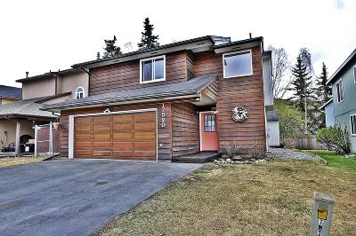 Chugiak, Eagle River Single Family Home For Sale: 17520 Beaujolais Drive